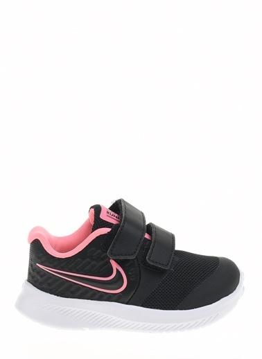 Nike Unisex Çocuk Siyah Spor Ayakkabı AT1803 - 002 NIKE STAR RUNNER 2 (TDV) Siyah